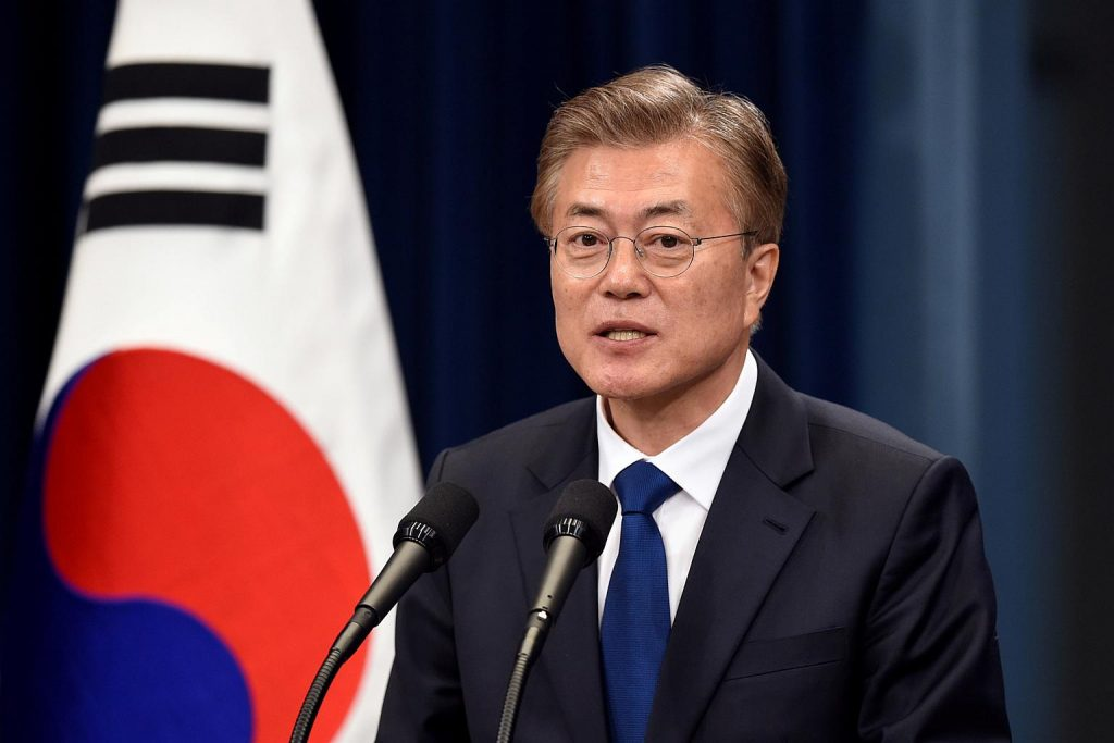 He has always initiated more effort to tackle the nation's issue with its neighboring country North Korea.
